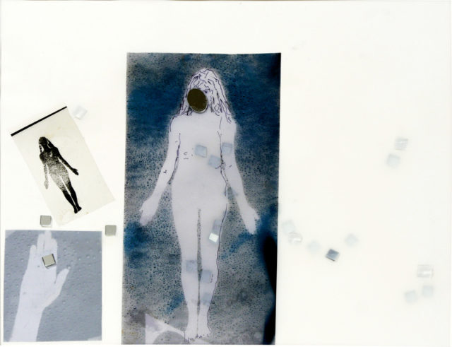Lynn Hershmann Leeson, 'Water Woman Evaporating'. Mixed media. Courtesy the artist + Whitney Museum, New York.