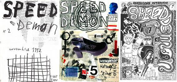 Speed Demon Queer Zine, Scanned image (2016). Courtesy of Sprint Book Fair, Milan.