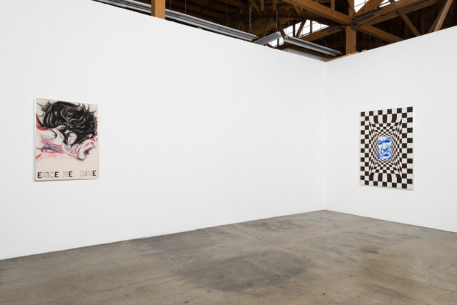 Zoe Barcza, 'Dr Awkward' (2016). Installation view. Courtesy the artist + Ghebaly Gallery, Los Angeles.